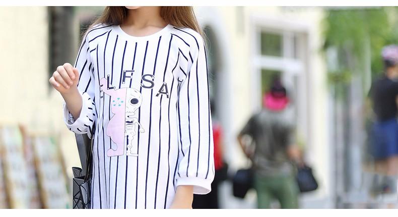 Fashion Teen Girls Halloween Costumes Dress Striped Skull Alien Cartoon Characters Frocks Age5 6 7 8 9 10 11 12 13 14T Years Old