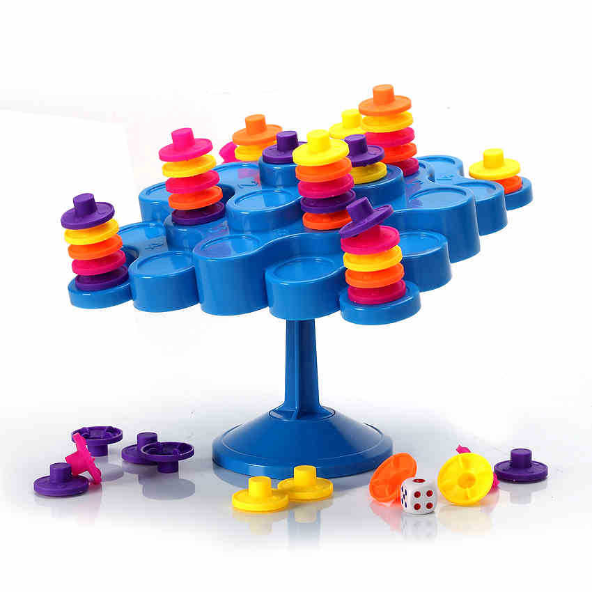 Children desktop game fun Tuoputa Yi intelligence toy Intelligence brain parent-child interaction balance tree 707-30(China (Mainland))