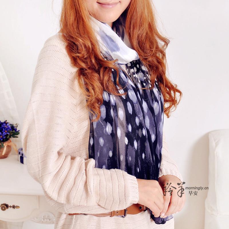 Spring female scarf mulberry silk women's pure silk long silk scarf