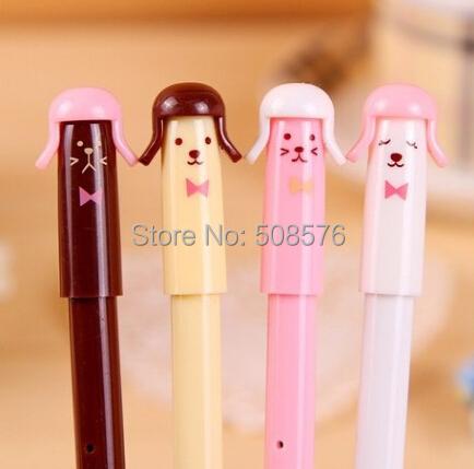 0.5mm gel pen New Creative loverly soldiers design pen Korea stationery kids fine Gifts school office supplies