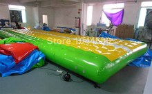 inflatable gym mat/inflatable self inflating air mat (8*3m with free shipping )(China (Mainland))