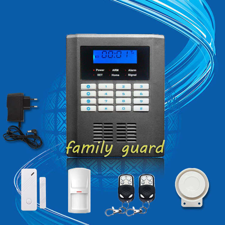 Free Shipping!Wireless Home GSM PSTN Telephone Auto-dial Security Burglar Alarm System Kit with new door clearance sensor<br><br>Aliexpress
