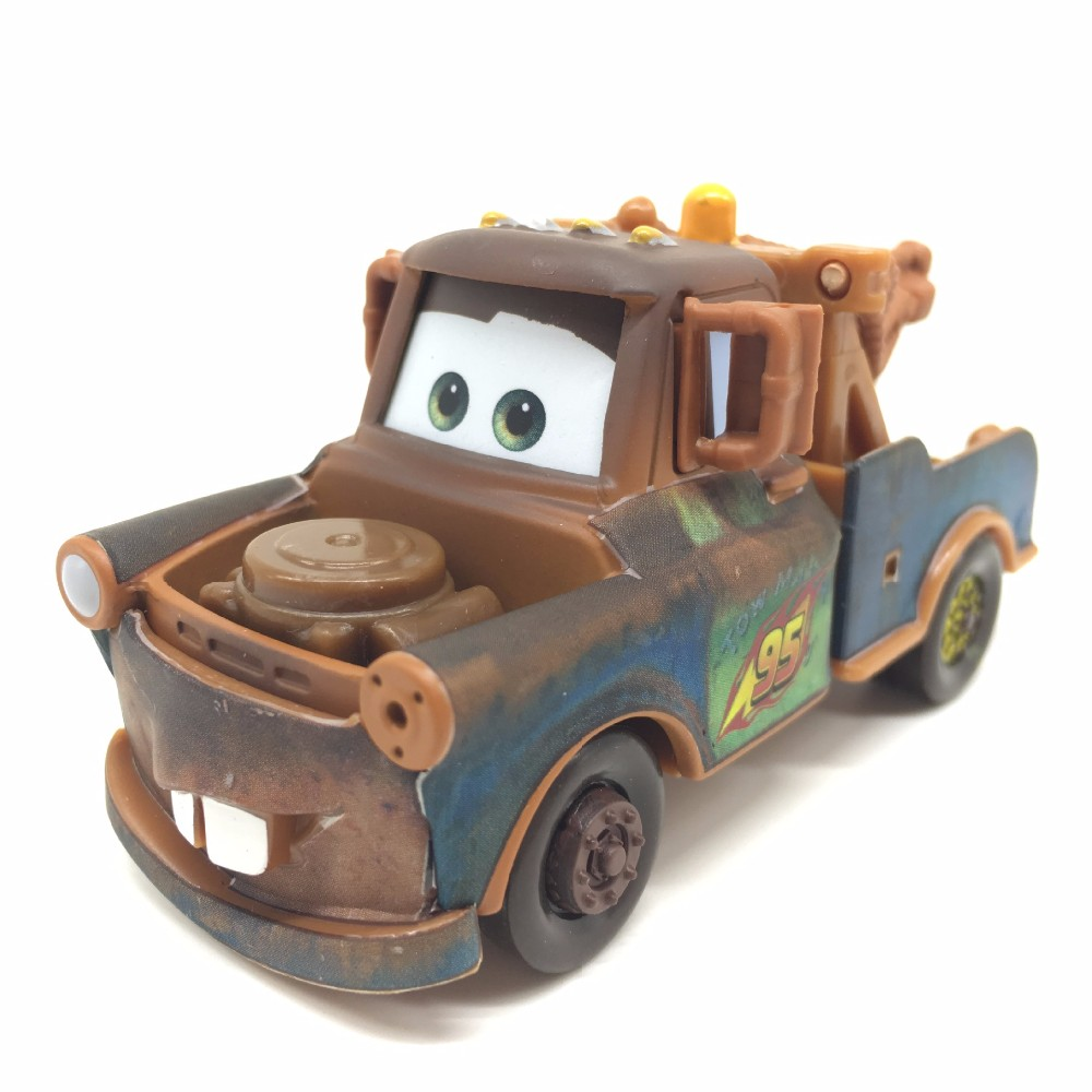 About 8cm Pixar Cars 2 Diecast Tow Truck Mater 1:55 Scale Metal Toy Car For Children Kids christnas Toys Gift(China (Mainland))