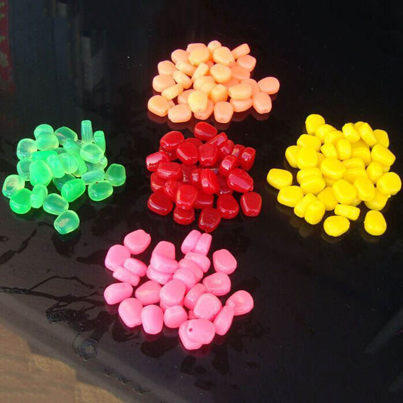 carp 100Pcs Soft Baits fishing lure 44grams pesca corn lure carp ORzOrwx