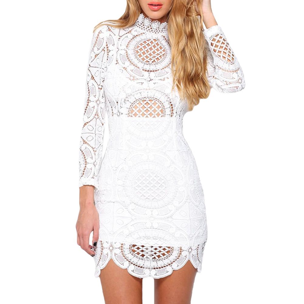Cheap Plus Size White Lace Dresses 69
