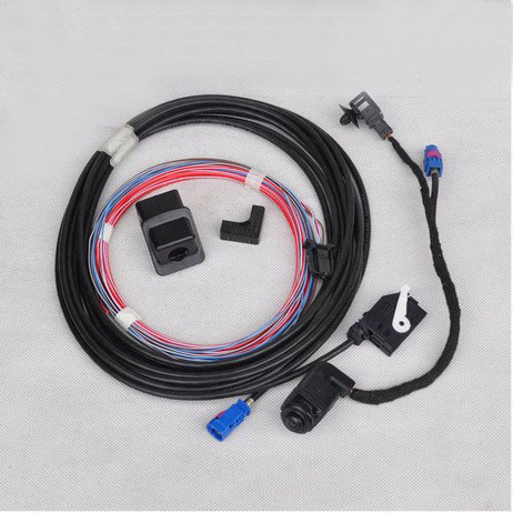 OEM Original VW Scirocco RGB Rear View Reversing Camera RCD510 RNS510 RVC 56D 980 551(China (Mainland))