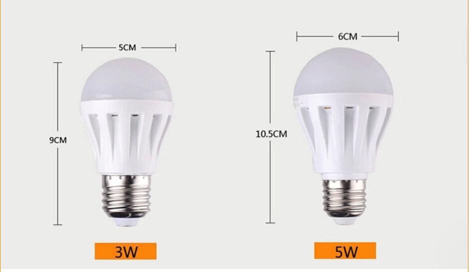 3w 5w 7w 9w 12w 12v led energy bulbs globular bulb  lamp DC 12V E27 saving use for yacht cars solar battery and workbench lamp(China (Mainland))