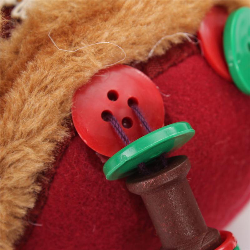 3 pçs/set Venda Quente Papai Noel Homem da Neve Boneca Decoração Da Árvore de Natal Ornamento de Suspensão Do Natal Da Rena Pingente Melhor Presente