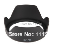 free shipping+tracking number 1pcs/lot   Lens Hood  EW 73B EW-73B Lens Hood For Canon 650D 550D 600D 18-135