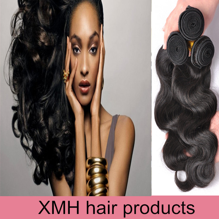 Unprocessed 6A Quality Brazilian Virgin Hair Body Wave Human Hair Extension 3Pcs Lot Cheap Wholesale Virgin Brazilian Hair Weave<br><br>Aliexpress