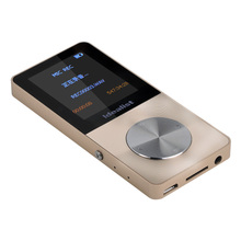 Study Metal Sport MP3 Support TF Card to 64GB Siliver Black Color Hifi MP3 Quality