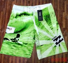 Los hombres de verano Pantalones cortos casuales de la marca de los hombres nuevos de la Junta 2019 de playa impermeable transpirable elástico de la cintura de moda Casual Hombre(China)
