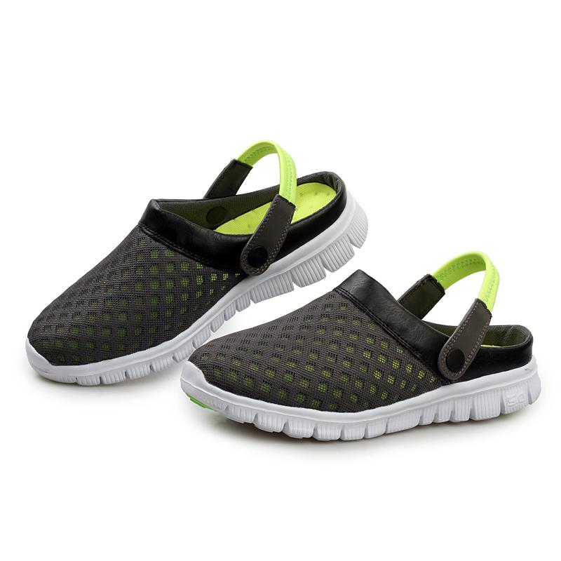 Design Unisex Mesh Breathable Sandals 2016 Summer Flat Heel Casual Women Men Couples Beach Flip Flops Slippers - Izonhe Global Trading Co., Ltd. store