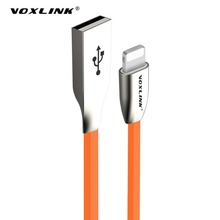 Buy VOLXINK 1m USB Cable 3D Zinc Alloy Fast Data Sync Charging Lightning Cable Iphone 7 7 Plus 6 6s Plus 5 5s SE iPad iPod for $2.61 in AliExpress store