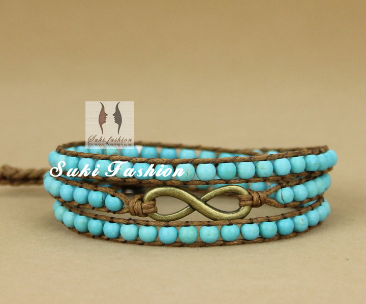 Aliexpress.com : Buy Infinity Bracelet Turquoise with ...