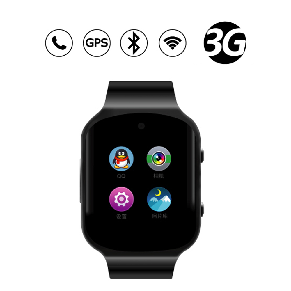 Heart Rate Monitor Smartwatch Wristwatch Z80 Quad Core CPU MTK6580 Android 5.1 Watch Phone Smart Watch With 3G GPS Camera Phone(China (Mainland))