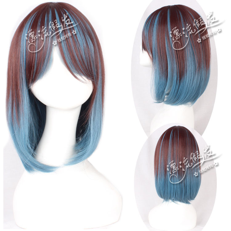 Гаджет  Drifting wig Japanese style long hair high temperature wire COS gradient  None Изготовление под заказ