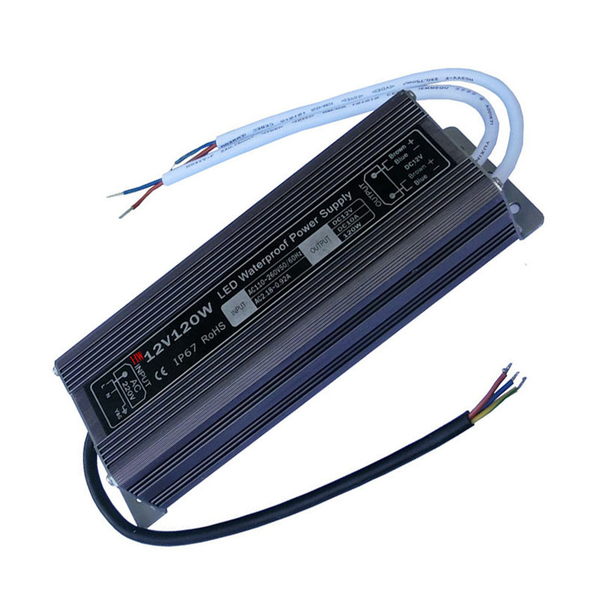 12V120W Constant pressure waterproof power supply Transformer power supply Safety LED waterproof driving power supply Monitor<br><br>Aliexpress