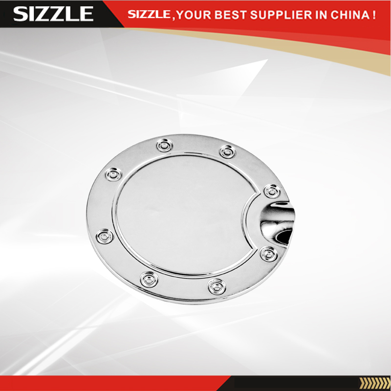 2002-2008 For Dodge RAM Pickup 1500 2500 3500 ABS Plastic Chrome Fuel Tank Gas Filler Door Cover Cap(China (Mainland))