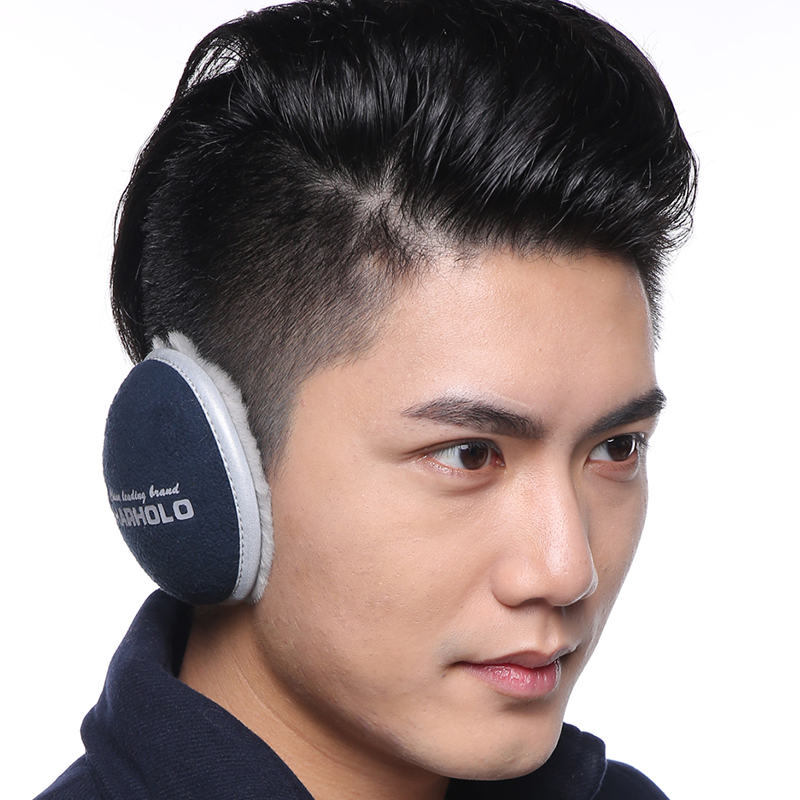 Screw new arrival 2014 folding thermal earmuffs male winter cold-proof ear bag earmuffs thickening(China (Mainland))