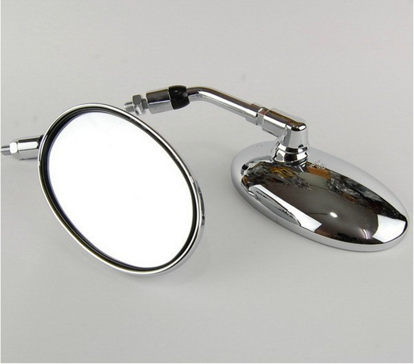 Motorcycle accessories side mirrors back mirror view mirror for honda steed 400 600 magena 250 1pair