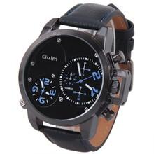 Grande de moda OULM 3182 hombres del deporte de la marca Vintage Montres Marque Luxe Relogios Masculinos Original grande ejército reloj de cuarzo