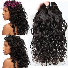 2016 Jerry Curl Brazilian Virgin Hair 6A Water Wave 4pcs /Lot Unprocessed Vietnamese Hair Weave Brazilian Wet And Wavy Hair 4pcs(China (Mainland))