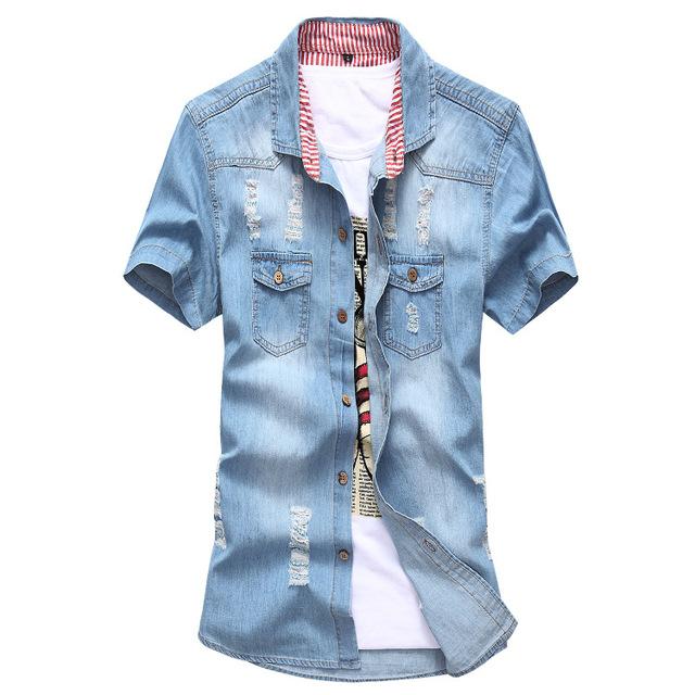 2015 горячая распродажа мужская мода твердые короткие рукавами мужской свободного ...
