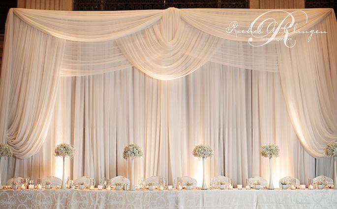 2015 new design white wedding backdrop wedding drape for Backdrop decoration for wedding