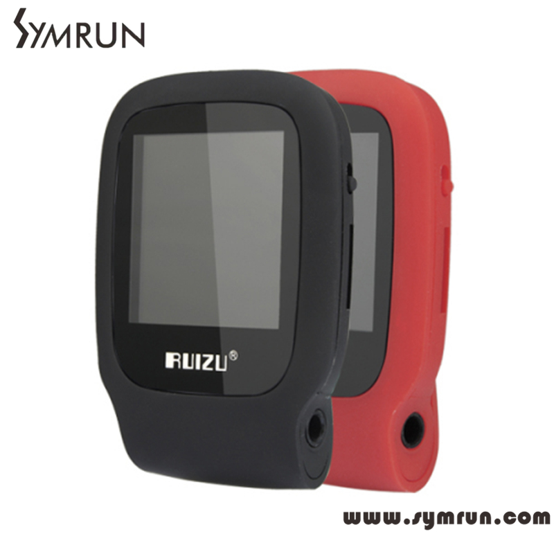 2016 New Arrive Original RUIZU X09 Sport MP3 Player 4gb Clip Mini With Screen Can Play 30 Hours With FM E-Book Clock Data(China (Mainland))