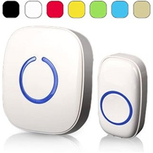 Wireless Doorbell Operating at over 500-feet Range with Over 50 Chimes, No Batteries Required for Receiver Fixed Code C Series(China (Mainland))