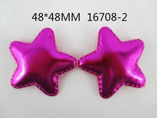 10Y16708 freeshipping 48*48mm star diy Girls Headwear headbands accessories(China (Mainland))