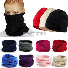 2014 New Unisex Polar Fleece Snood Hat Neck Warmer Ski Wear Scarf Beanie Balaclava  Free shipping