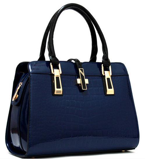 Famous Brands Handbags 2015 Luxury elegant female big bags Crocodile women's genuine leather handbag cowhide messenger bag F328(China (Mainland))