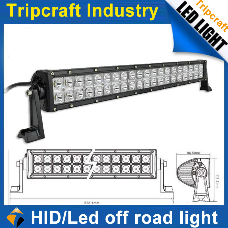 High quality 10-30V DC 120W LED OFFROAD LIGHT BAR manufacturer for boat Jeep Excavators truck IP67 Led Bar Light offroad ,(China (Mainland))