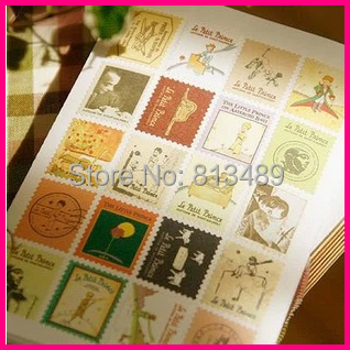 Wholesale 400pcs le petit prince vintage stickers Decoration le petit prince
