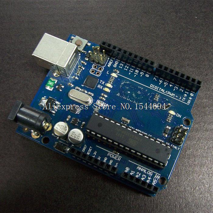 Электронные компоненты For Arduino UNO ATMEGA16U2 R3 Arduino R3 USB 100pcs/lot UNO R3