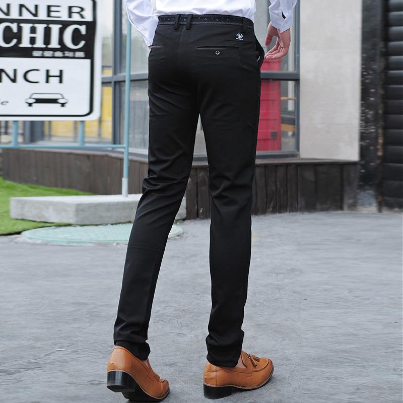 mens skinny black dress pants - Pi Pants