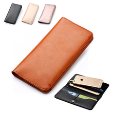 Microfiber Leather Sleeve Pouch Bag Phone Case Cover Wallet Flip Doogee Shoot 1 / X9 Mini T5S Pro T3 T5 Lite - Cui Man Store store