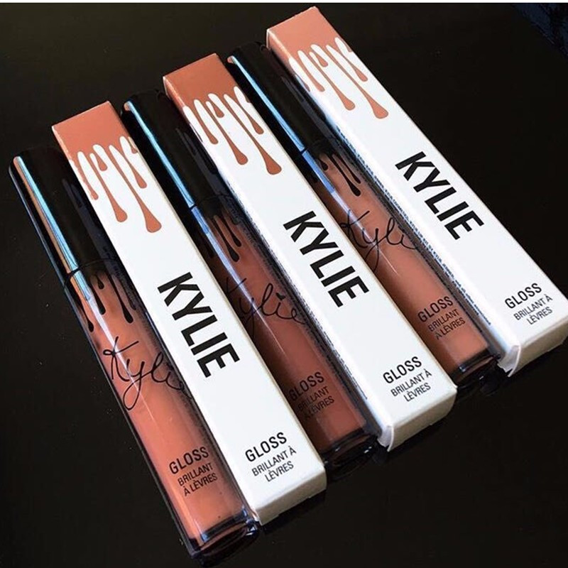 1PCs New 2016 Hot Kylie Jenner Lipstick Kit Liquid Single Lip Liner Gloss 14 Colors A0317