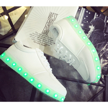 11 Colorful  Basket  LED Shoes For Adults    Women Mens LED Light Up Shoes   Chaussure Lumineuse Led Femme Homme  Glowing Shoe(China (Mainland))
