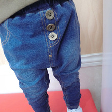 2015 New Arrival Baby's Denim Trousers Spring & Autumn European Style 0-3T Boys & Girls Jeans Children Pants Trousers, HC449