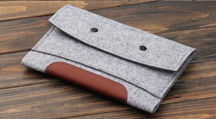Woolen Felt Case Pouch Ultrabook Sleeve Bag For iPad 2 3 4 iPad AIR AIR2 Tablet