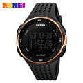 New Arrival Hot Brand Skmei Women Watch Fashion Casual Led Sport Watch Waterproof Military Students Quartz