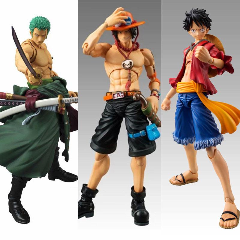 Anime One Piece Zoro Figure SHF PVC 18CM One Piece Action Figures S.H.Figuarts Anime Toys Roronoa Zoro Model Toys luffy ace(China (Mainland))
