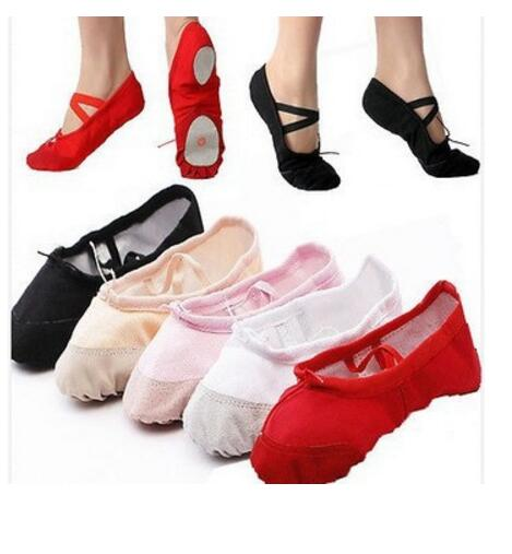 2016 new posting Special Size convert 22-40 indoor soft sole girls ballet shoes women's ballet dance shoes ladies(China (Mainland))
