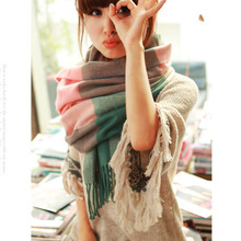 2015 new winter scarf high quality shawls and scarves knitted scarf blanket Uneven hot font b