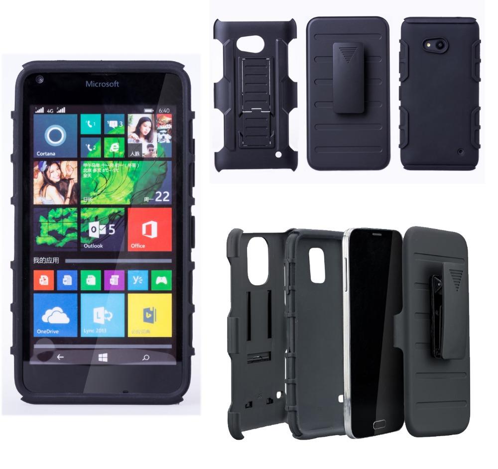 Shockproof Impact Rugged Combo Hard Phone Case Slide Cover For Microsoft Lumia 640(China (Mainland))