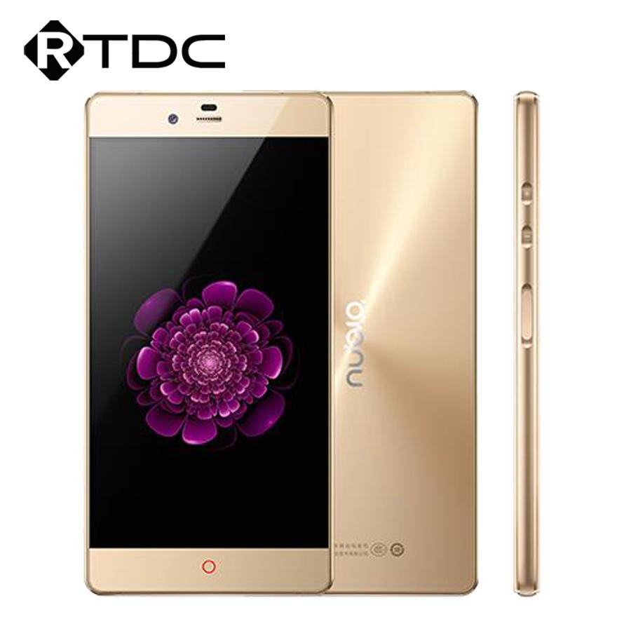 Original ZTE Nubia Z9 Max Elite 3GB RAM 64GB ROM Fingerprint ID Mobile Phone 5.5 Inch 4G LTE Snapdragon 810 Octa Core 16.0MP(China (Mainland))