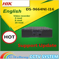 in stock DS 9664NI I16 English version H 265 NVR 64CH Support up to 12MP camera